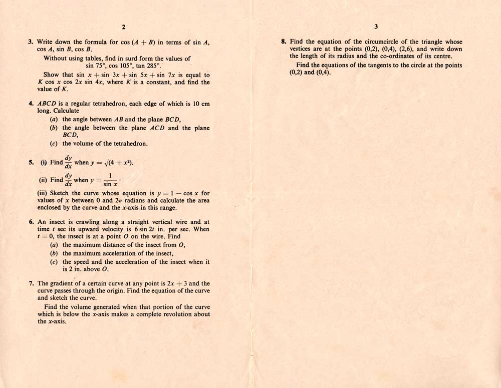 gce o level english Gce o-level papers 1966  summer 1966, english language 1  scans of  gce ordinary level examination papers for 1966 are included here - various.
