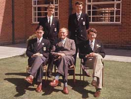 The Upper Sixth (Arts) of 1958